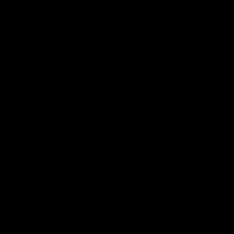 TRESKAFT 1560 MM M/GJENGER SORT